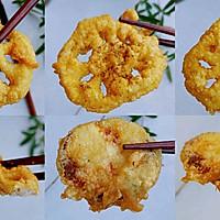 粉粉蛋香油炸藕的做法图解9