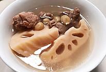 清甜排骨莲藕花生汤的做法