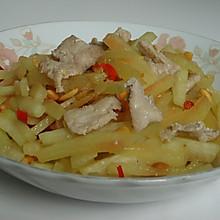 西瓜皮炒肉