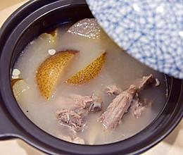 「广式靓汤」广东人教你煲雪梨猪骨汤的做法