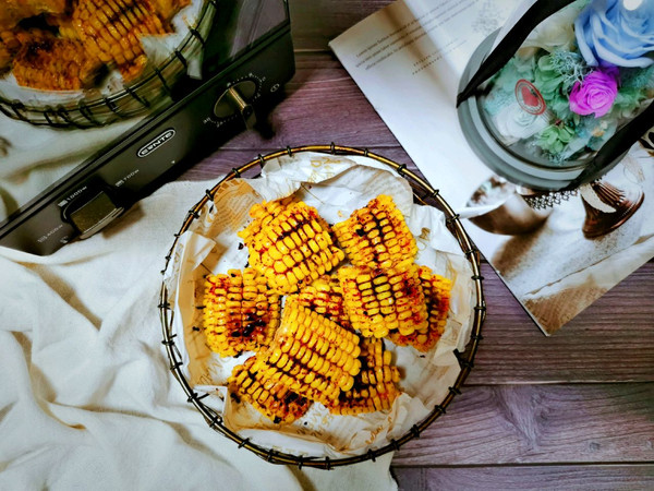 简单快手烤玉米的做法