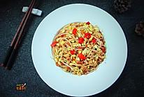 香辣干煸黄豆芽#雀巢营养早餐#的做法