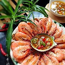 家常菜— —白灼海虾