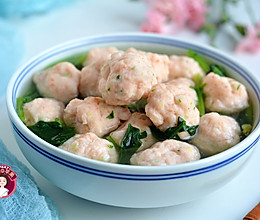 #精品菜谱挑战赛# 虾丸菠菜汤的做法