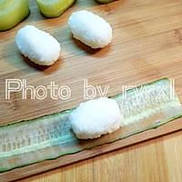 金枪鱼黄瓜寿司的做法图解6