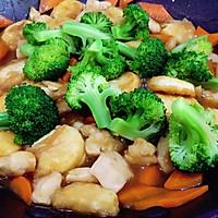 日本豆腐胡萝卜焖鸡胸肉的做法图解10