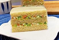 """#美食说出""""新年好""""#鸡蛋沙拉三明治的做法"""