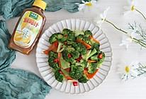 #太太乐鲜鸡汁玩转健康快手菜# 炒西蓝花太太乐鲜鸡汁蒸鸡原汤的做法