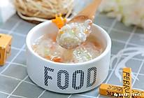 番茄丝瓜干贝粥 宝宝辅食食谱的做法