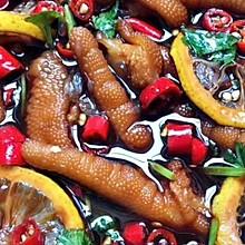 网红柠檬泡鸡爪
