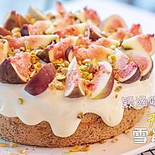 无花果雪崩蛋糕
