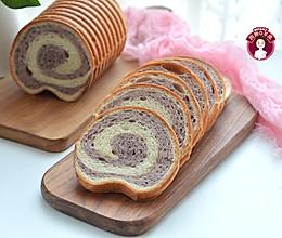 波兰种紫薯双色吐司的做法