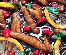 网红柠檬泡鸡爪的做法