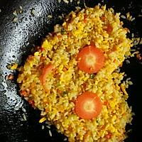 鸡蛋炒饭的做法图解3