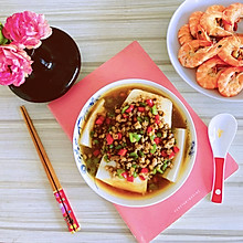 #助力高考营养餐#肉末蒸豆腐