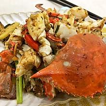 超好吃的香辣梭子蟹,吮指都不够!