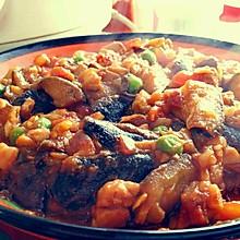 「温暖家常」西红柿肉丁烧茄子
