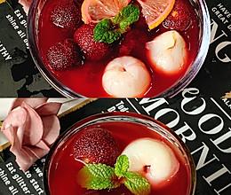 夏日神仙饮品❗️酸甜冰镇柠檬杨梅荔枝饮的做法