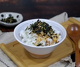芥味芝麻海苔拌饭的做法