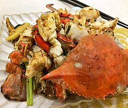 超好吃的香辣梭子蟹,吮指都不够!的做法