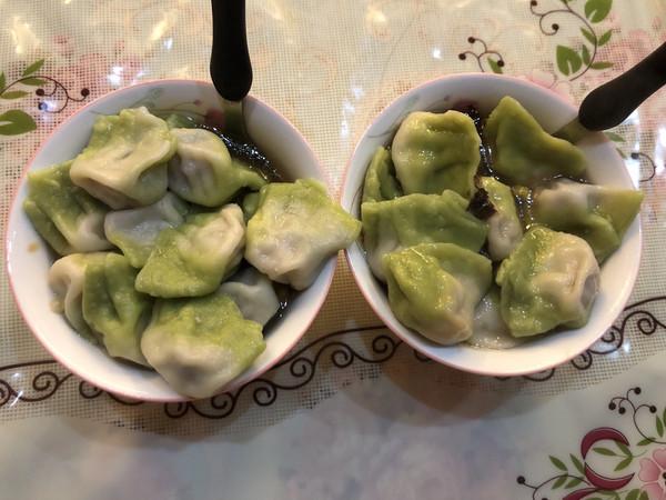白菜形状水饺的做法