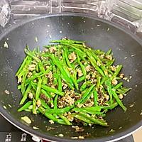 橄榄菜肉末四季豆的做法图解7