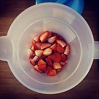 草莓柠檬鸡尾酒的做法图解3