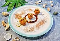 三文鱼虾仁酥炸丸子的做法