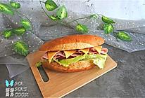 #夏日消暑,非它莫属#塞克火腿三明治的做法