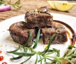 香烤牛肉粒(烤箱版)的做法