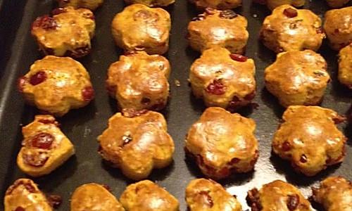 蔓越莓司康饼的做法