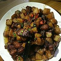 五花肉烧土豆的做法图解7