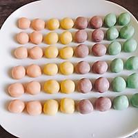 马卡龙色千层蛋黄酥 中式糕点#每道菜都是一台食光机#的做法图解11