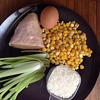 孕、幼儿食谱【玉米鸡蓉粥】的做法图解1