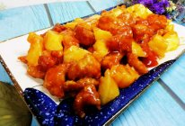 #人人能开小吃店#菠萝咕咾肉的做法