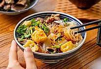 鸭血粉丝汤   丰盛鲜美的做法
