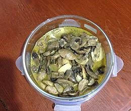 磨菇熬油的做法