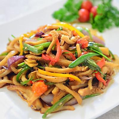 新疆菜-爆炒羊肚