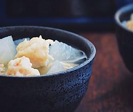 #秋天怎么吃#冬瓜肉丸汤的做法
