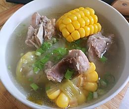 不长肉的排骨玉米汤,一次能喝一盆的做法