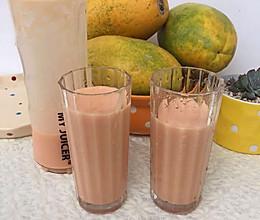 木瓜奶#ErgoChef原汁机食谱#的做法