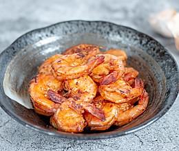 #我要上首焦#虾这样炒着吃,鲜香美味,配米饭更香的做法