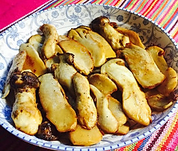 【家常便饭】黄油松茸(换成杏鲍菇也行哦)的做法