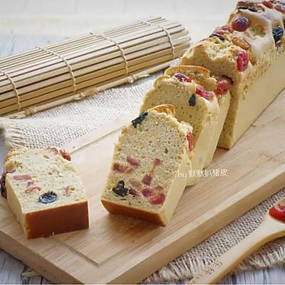 低油低糖【酒渍水果蛋糕】