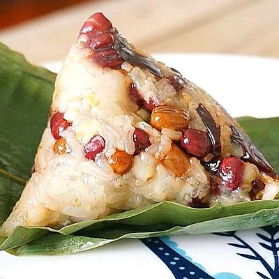 端午节红豆蜜枣粽子