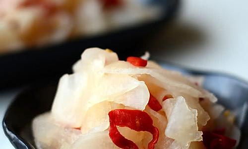 【辣萝卜】——爽口小凉菜的做法