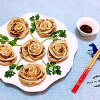 玫瑰蒸饺#我买新鲜味#的做法图解11