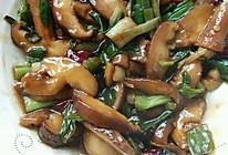 蚝油花菇的做法