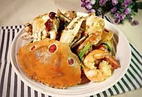 香炒花蟹的做法