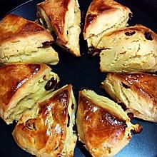 香酥榴莲提子司康饼(图详解)